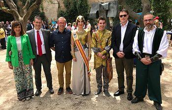 El Gobierno de CLM presente en las Fiestas Mayores de Almansa.