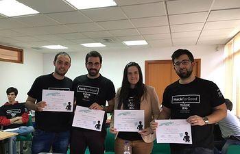 Los hackers de Ciudad Real se alzan con el Premio Cooperación en el Hackforgood de Telefónica
