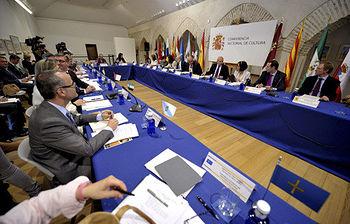 La Conferencia Sectorial de Cultura transmite al Rey su lealtad, afecto y agradecimiento (foto EFE)