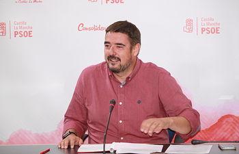 Rafael Esteban, presidente del Grupo socialista en las Cortes de Castilla-La Mancha.