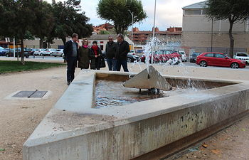 Casañ visita el barrio de San Antonio Abad.