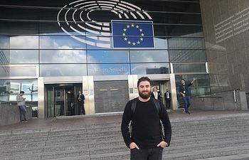 Unidas Podemos-IU traslada su preocupación con el tren Extremadura-Madrid en el Parlamento Europeo