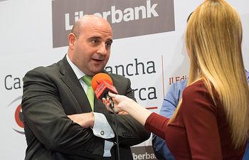 D. José Ignacio Martínez Uviedo, subdirector General de LIBERBANK de Banca Comercial de CLM Este.