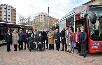 Nuevos autobuses de tecnología híbrida-eléctrica en Albacete.