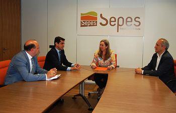 Reunión mantenida en Madrid con la directora general de la Entidad Pública Empresarial de Suelo (SEPES)