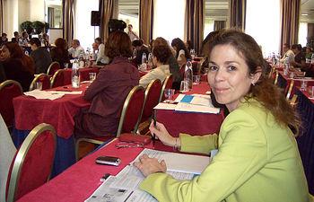 """Eva Carrasco en Bruselas en la reunión sobre el programa """"Jessica"""""""