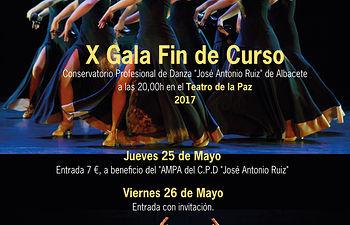 Cartel X GalaFin de curso - C.P.D. _José Antonio Ruiz_