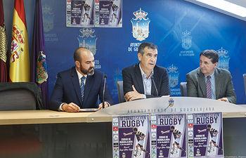 Presentación del  III Torneo de Rugby Memorial Sergio Gálvez