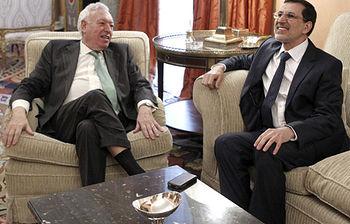 José Manuel García- Margallo y Saad-Eddine El Othmani (Foto archivo Efe)