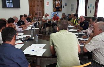 Junta Provincial de Seguridad Ciudadana con motivo de la XLII Medio Maratón Ciudad Real-Torralba de Calatrava.