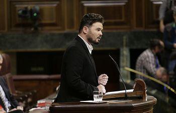 Gabriel Rufián. Foto: Congreso.