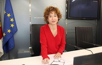 Mª Ángeles Martínez, concejal de educación en el Ayuntamiento de Albacete.