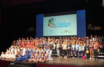 Gala del Deporte 2015. Foto de Familia.