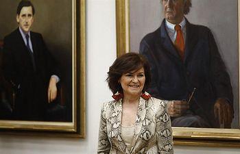 Carmen Calvo. Agencias.