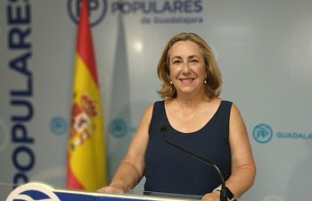 Silvia Valmaña, diputada nacional por Guadalajara.