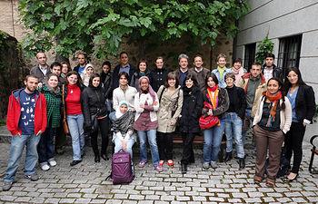 Participantes en ediciones anteriores del taller.