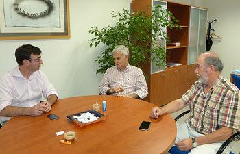 Reunión CC.OO - Daniel Martínez.