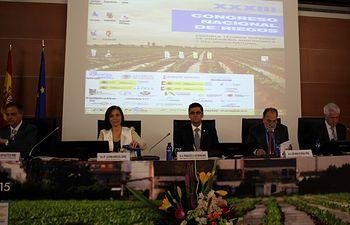 Inauguración XXXIII Congreso Nacional de Riegos. Foto: Ministerio de Agricultura, Alimentación y Medio Ambiente