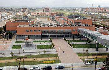 Instantánea de la Facultad de Medicina de Albacete, donde se encuentra el CRIB