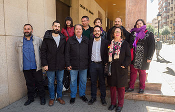 Presentación de las candidaturas al Congreso y Senado por Unidas Podemos
