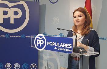 Marta Valdenebro, senadora del PP  por Guadalajara.