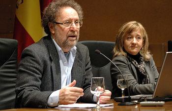 Joaquín Aparicio y María José Romero