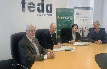 Convenio Fundación Globalcaja-Escuela de Negocios FEDA.