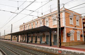 Estación de tren de La Roda - Albacete. Archivo.