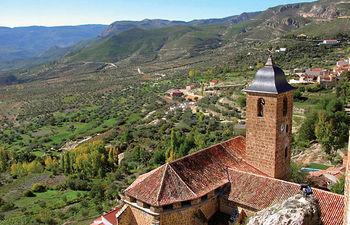 La nueva Ley de Montes prohibe el cambio de uso forestal del terreno afectado por un incendio. Foto: Yeste, en Albacete.