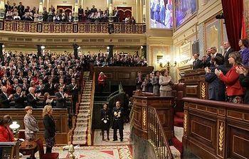 El presidente en el Congreso. Foto: lamoncloa.gob.es.
