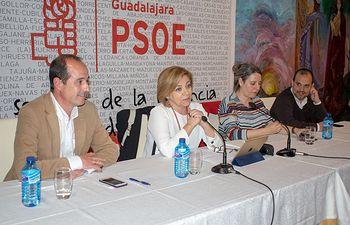 PSOE Guadalajara - Acto sobre igualdad con Elena Valenciano