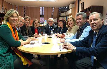 Reunión PP con Colegio de Procuradores.