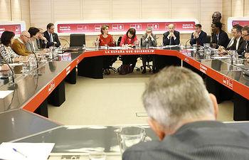 Teresa Rivera mantiene una reunión sobre Transición ecológica de la economía