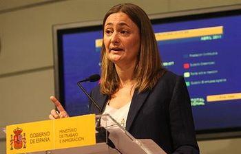 Mari Luz Rodríguez. Foto: Ministerio de Trabajo e Inmigración.