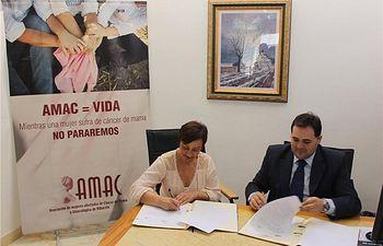 La Diputación renueva su compromiso con las mujeres afectadas por cáncer de mama (AMAC)