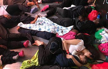 Refugiados Aquarius - MSF