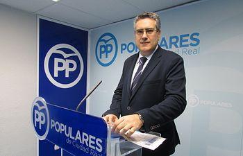 Miguel Ángel Rodríguez, diputado autonómico del PP por la provincia de Ciudad Real.