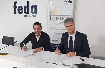 FITECAM y ASENTIA firman un convenio para fomentar la creación de un foro de seguridad industrial en Castilla-La Mancha