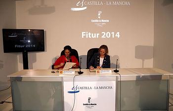 Casero firma convenio colaboración secretaria EstadoTurismo Fitur I. Foto: JCCM.