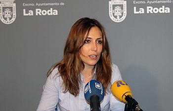 Concejala de Cultura en el Ayuntamiento de La Roda, Lucía del Olmo