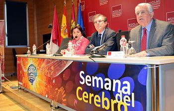 Nohemí Gómez, Miguel Ángel Collado y Juan Emilio Felíu.