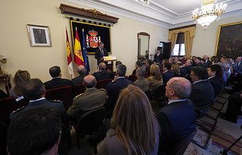 Acto institucional Conmemorativo del XXXIX Aniversario de la Constitución Española
