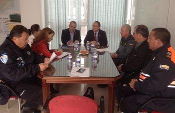 El subdelegado del Gobierno en Albacete preside la Junta Local de Seguridad de Ontur