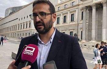 Sergio Gutiérrez. secretario de Organización del PSOE de Castilla-La Mancha.