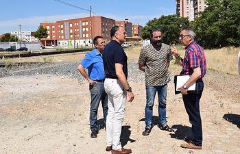 Nuevo parking público de Tarancón.