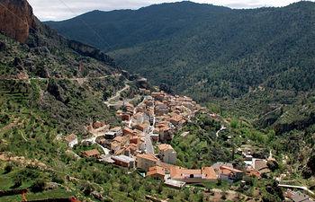 Vista de Ayna, en la provincia de Albacete.