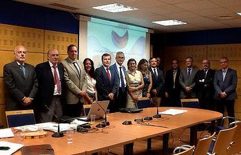 Constitución Comité Seguimiento Estrategia Marina demarcación noratlántica. Foto: Ministerio de Agricultura, Alimentación y Medio Ambiente