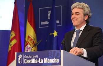 Leandro Esteban informa de acuerdos adoptados en Consejo de Gobierno 29-01-15 (1). Foto: JCCM.