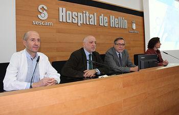 Presentación nuevo modelo de calidad de Servicios del Hospital de Hellín.