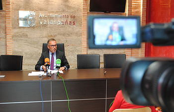Francisco Delgado. teniente de alcalde de Personal y Régimen Interior en el Ayuntamiento de Valdepeñas.